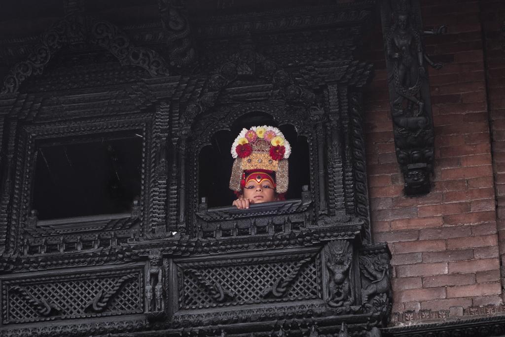 ネパール・クマリ1